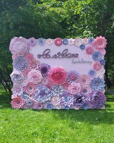 Летний стенд для @love_bazar  #love_bazar #бумажныйдекор #бумажныецветы…
