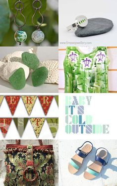 For Those Who Love Green! by Asta on Etsy--Pinned with TreasuryPin.com