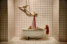 "Joshua Hoffine photography Elizabeth Bathory from ""Childhood Fears"""