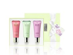 MOLTON BROWN London 'Timeless Florals' Hand Cream Trio  Blossoming Honeysuckle & White Tea Hand Cream Delicious Rhubarb & Rose Hand Cream Dewy Lily of the Valley & Star Anise Hand Cream