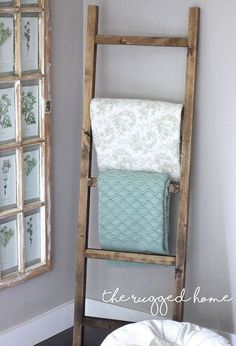 make a rustic ladder for 7 dollars home decor how to pallet plumbing repurposing upcycling rustic furniture tools woodworking projects - March 17 2019 at Diy Home Decor Rustic, Handmade Home Decor, Unique Home Decor, Cheap Home Decor, Country Decor, Country Farmhouse, Country Living, Cheap Rustic Decor, Rustic Signs