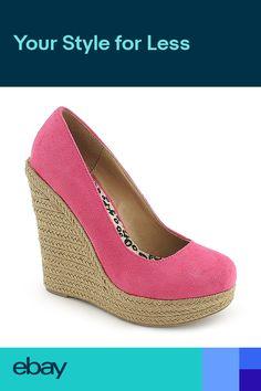 bb51914b1ec0 NEW Casual Fashion Shoes Pink Close toe Wedge Platform Sandals Pumps Size  W9 New Casual Fashion
