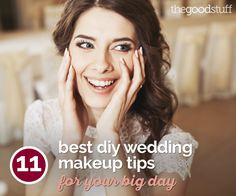 Planning to do your own makeup? Here are a few helpful tips for your wedding day!