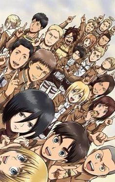 Shingeki no Kyojin/Attack on Titan Characters (Mikasa! Got Anime, I Love Anime, Awesome Anime, Manga Anime, Anime Art, Armin, Eren X Mikasa, Noragami, Tokyo Ghoul