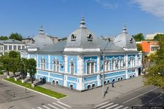 Barnaul, Russian city located in the south of Western Siberia, has a number of interesting architectural monuments like this building of former religious school