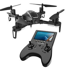 Holy Stone RC Racing FPV Drone with FOV HD Camera Live Video High Speed Wind Resistance Quadcopter with LCD Screen Real Time Transmitter Includes Bonus Battery – Latest technologies and best prices Gopro, Spy Drone, Drone Diy, Camera Drone, Spy Gear, Drone For Sale, Drone Technology, Technology Design, Medical Technology