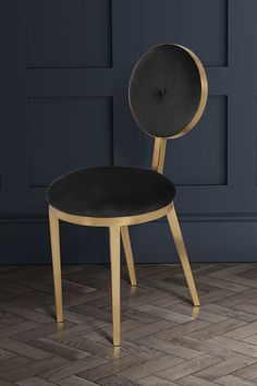 nope this isn't a dressing room but this chair would look great in one - aj Ravello Dining Chair - Black