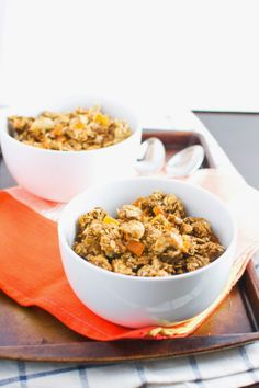 Tropical Granola (or Granola Bars)