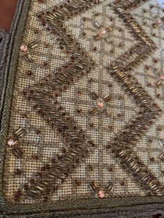 Cross Stitch Designs, Beaded Embroidery, Beads, Rugs, Home Decor, Beading, Farmhouse Rugs, Decoration Home, Room Decor