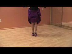Dancing the Flamenco : Flamenco Dancing: Single & Double Golpe Steps - YouTube