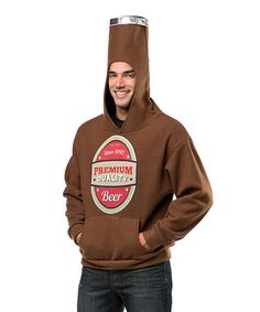 Brown Beer Bottle - Adult & Plus by Ha Ha Hoodies