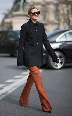 Olivia Palermo from The Big Picture: Today's Hot Photos  The always stylish socialite is seen in Paris.