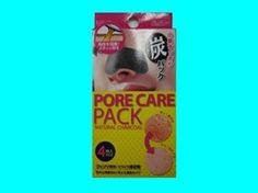 Nose pore care pack with charcoal