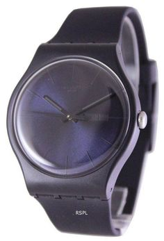 Features: Plastic Case Black Silicone Strap Swiss Quartz Movement Mineral Crystal Black Dial Day And Date Display Pull/Push Crown Solid Case Back Tang Clasp Water Resistance Approximate Case Diameter: Approximate Case Thickness: Swatch, Unisex, Krystal, Vintage Watches, Watches For Men, Men's Watches, Plastic Case, Quartz, Display