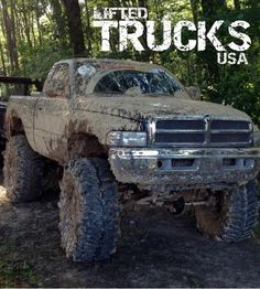 Lifted trucks. Dodge