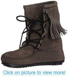 2d07bc421cf956 Minnetonka Women s Tramper Ankle Hi Boot Fringe Fashion