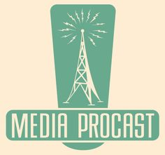 Media Procast Logo by Douglas Moore, via Behance. Could work if I put in the monument instead of a radio tower