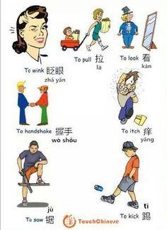 :) #Chinese #language #verbs #中文