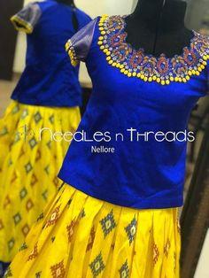 Kids Dress Wear, Kids Gown, Stylish Blouse Design, Stylish Dress Designs, Gowns For Girls, Dresses Kids Girl, Little Girl Fashion, Kids Fashion, Women's Fashion