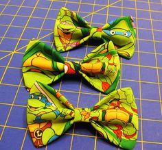 Teenage Mutant Ninja Turtles Bow Tie Clip on