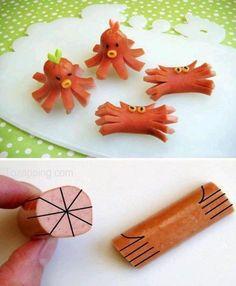Cómo-hacer-pulpos-y-cangrejos-con-salchichas-625x760-px