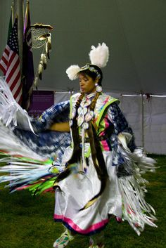Native American Dancer 2 by ahisgett, via Flickr