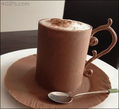 YUMMY! Chocolate Mousse in Chocolate Cup How to video: Chocolate Mousse in…