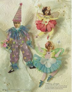 clowns and fairies