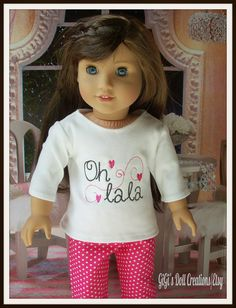New Paris Clothing for American Girl Doll Grace and other dolls