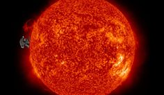 Nasa photo June 13, 2012 This one is the most amazing. Enlarge to see left side of the Sun...