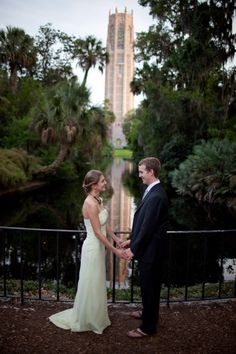 The Tower is a great backdrop for the big day-Photographer Eric Farewell
