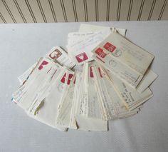 Over 100 Handwritten Envelopes Vintage by VintageSouthernPicks