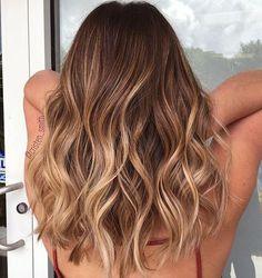Seamless beige balayage ombre waves by @ap_rubio #beautybycristen