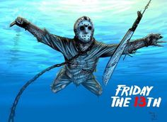 Horror Movie Posters, Horror Movies, Horror Villains, Funny Movies, Scary Movies, Happy Friday The 13th, Slasher Movies, Smells Like Teen Spirit, Spirited Art