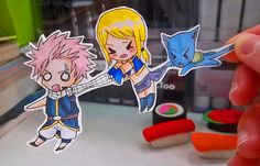 Fairy Tail paper children-I'm taking you with me!! by MadPandaKira on deviantART