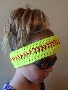 Softball Headband <3