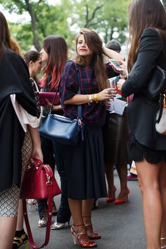 On the Street…After Fendi - The Sartorialist