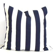 NAVY BLUE PILLOW Sale.14x14 inch.Decorative by ElemenOPillows