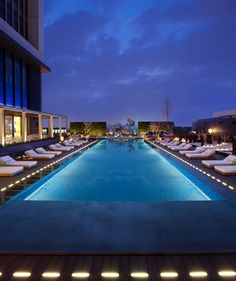 W Hotels think the Marine bean bags would look lovely round this pool!