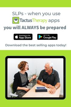 The best speech therapy tools help speech-language professionals work better. Provide evidence-based treatment with ease using Tactus Therapy apps for SLPs. Speech Language Pathology, Speech And Language, Communication Techniques, Evidence Based Medicine, Feedback For Students, Stroke Recovery, Best Speeches, Apraxia