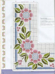 ponto-cruz-flores-6-500x400 78 gráficos de flores em ponto cruz para imprimir