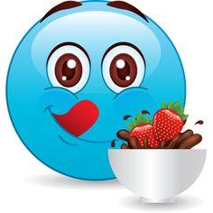 Chocolate & Strawberries emoji