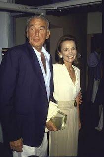 With her husband, director Herbert Ross
