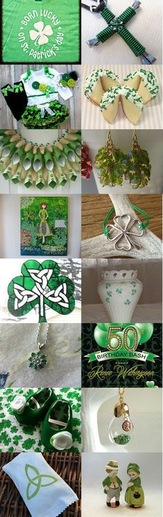 St. Patty's  by Charles and Debbi on Etsy--Pinned with TreasuryPin.com