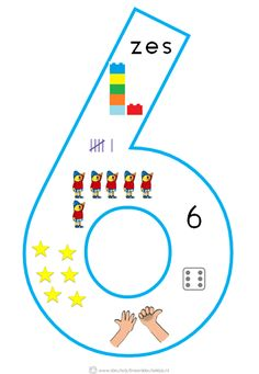* Cijfersymbolen om in de klas te hangen | Beginnende gecijferdheid. 6-9 Math Classroom, Kindergarten Math, Busy Boxes, School Posters, Math Numbers, Math For Kids, Working With Children, Childhood Education, Drawing For Kids
