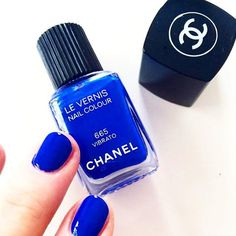 International Klein Blue really is perfect for every day life. We love this stunning color on nails! #InternationalKleinBlue #IKB #Fashion