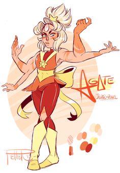 Agate | Jasper and Pearl Fusion