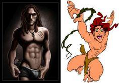 Sexy Disney Male Heroes: Tarzan