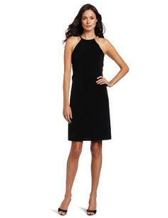 Calvin Klein Women`s Halter Dress