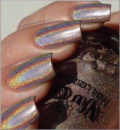 I am so in love with this nail polish!! This one is Nfu Oh #62